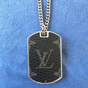 Louis Vuitton Accessories - Men's Louis Vuitton Locket Necklace